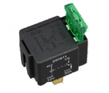 4 Pin automotive type 12 volt 30Amp relay with buit-in fuse holder ALT/RY28-02